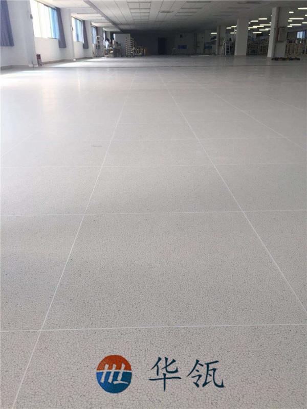 直铺PVC面防静电地板