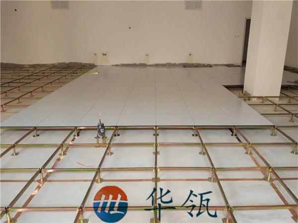 陶瓷防静电地板铺装