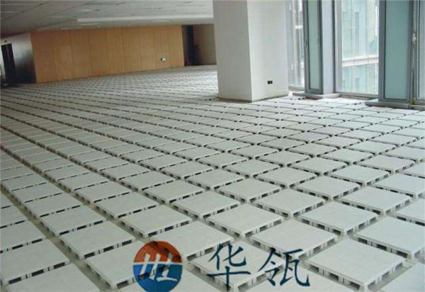 塑料防静电地板工程